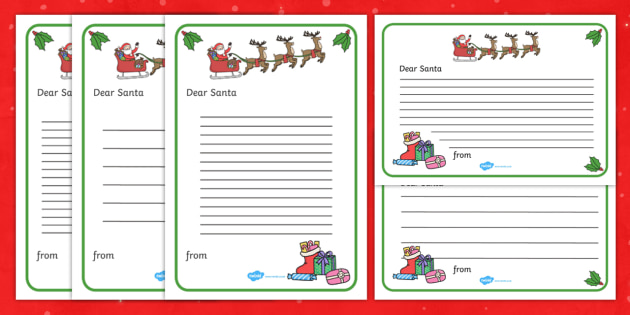 letter to santa letter to santa santa letter example santa