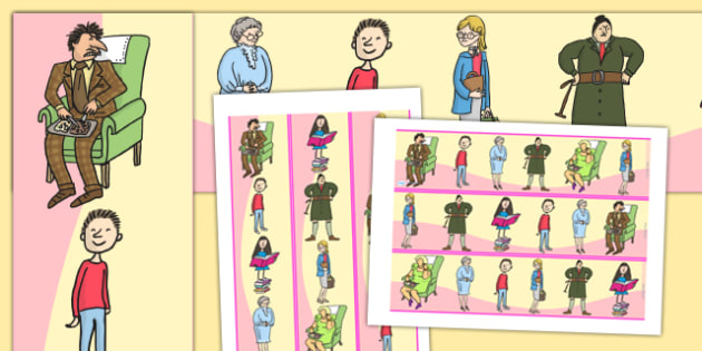 Display Borders to Support Teaching on Matilda - Matilda, matilda display border, display borders, roald dahl, roald dahl display border, matilda borders, roald dahl borders