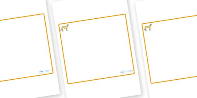 Cheetah Themed Editable Classroom Area Display Sign - Themed Classroom Area Signs, KS1, Banner, Foundation Stage Area Signs, Classroom labels, Area labels, Area Signs, Classroom Areas, Poster, Display, Areas
