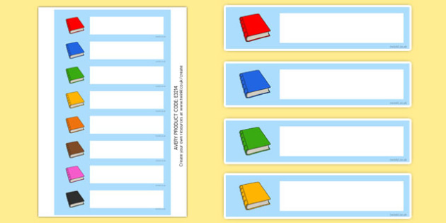 image regarding Library Shelf Labels Printable identified as Absolutely free! - Editable Reserve Band / Shelf Labels - Ebook label