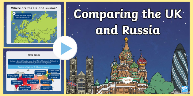 NEW * KS1 Compare Russia and the UK Teaching Activity Pack - Europe ...