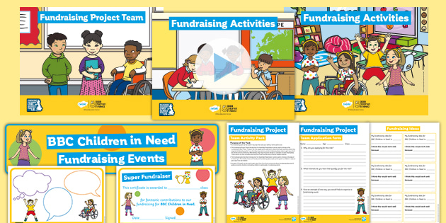 BBC Children in Need Project Team Activity Pack