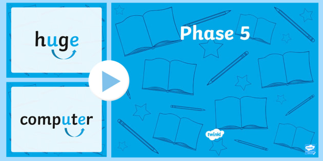 Phase 5 Quick Read PowerPoint u e 2-phase five, phase 5, quick read, powerpoint, u, e, sounds, letters, phase powerpoint, phases, literacy