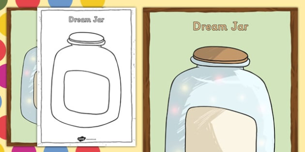 Dream Jar Poster to Support Teaching on The BFG - bfg, dream jar, poster, dream, jar