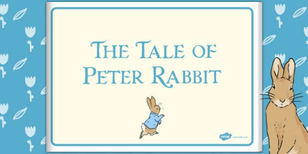 The Tale of Peter Rabbit eBook - peter rabbit, ebook, story