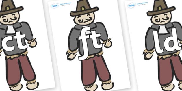 Final Letter Blends on Guy Fawkes - Final Letters, final letter, letter blend, letter blends, consonant, consonants, digraph, trigraph, literacy, alphabet, letters, foundation stage literacy