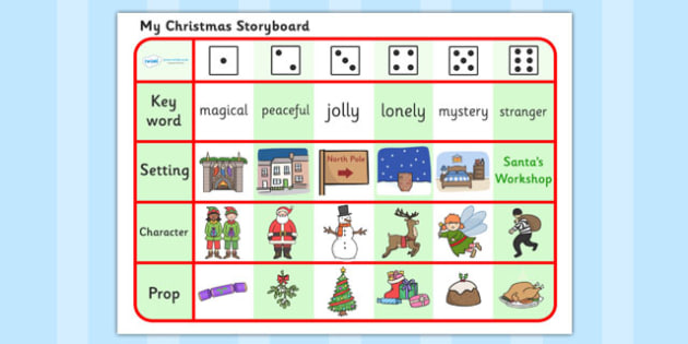 Christmas Writing a Story Activity  - christmas, writing, literacy