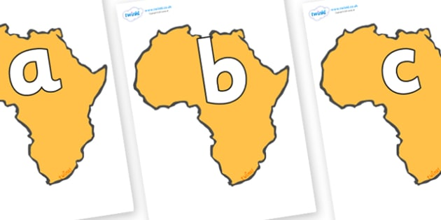 Phoneme Set on Africa - Phoneme set, phonemes, phoneme, Letters and Sounds, DfES, display, Phase 1, Phase 2, Phase 3, Phase 5, Foundation, Literacy