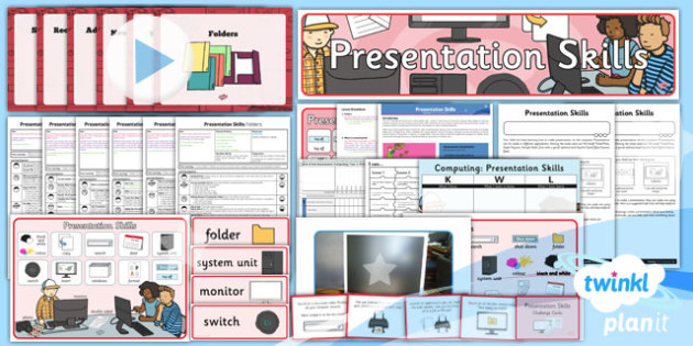 Computing: PowerPoint Presentation Skills Year 2 Unit Pack