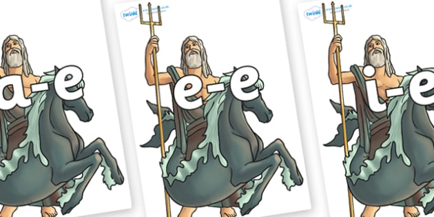 Modifying E Letters on Poseidon - Modifying E, letters, modify, Phase 5, Phase five, alternative spellings for phonemes, DfES letters and Sounds