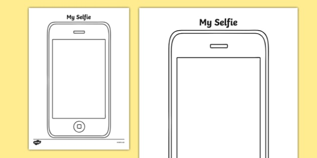my selfie worksheet activity sheet worksheet