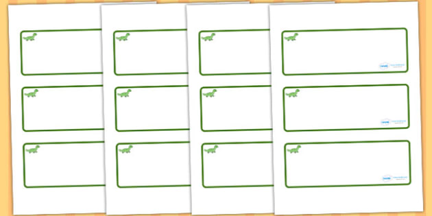 Gecko themed editable drawer peg name labels blank - name tags