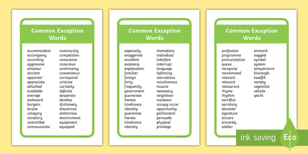 IKEA Toslby Year 5 and 6 Common Exception Words Prompt Frame - ikea tolsby, tolsby frame, tolsby, ikea, prompt frame, year 5, year 6, common exception words, common exception, exception words, prompt, frame