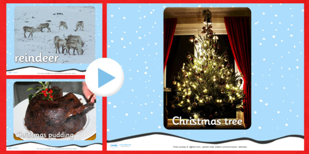 Christmas Photo PowerPoint - christmas, photo powerpoint, powerpoint, christmas photos, image, picture, presentation, discussion starters, group discussion