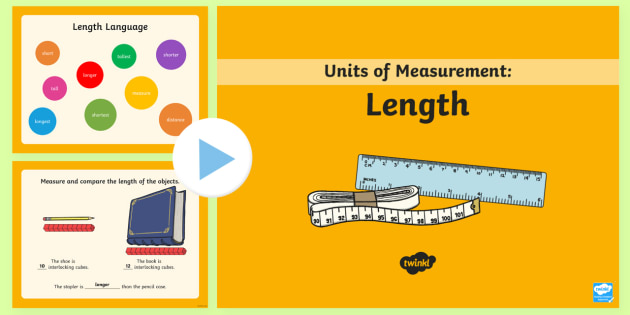 year 1 length powerpoint mathematics measurement and