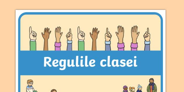 Regulile clasei - Banner