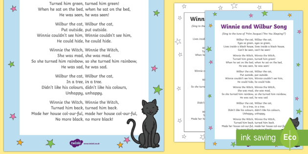 Winnie and Wilbur Song