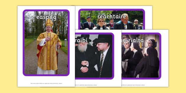 Irish Occupations Religion Display Photos Gaeilge - display, photos, occupations, religion, Gaeilge, Irish