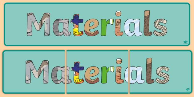 9190f4267def1e FREE! - Materials Display Banner - materials