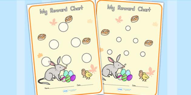 Sticker Reward Charts30mm - stickers, rewards, awards, charts