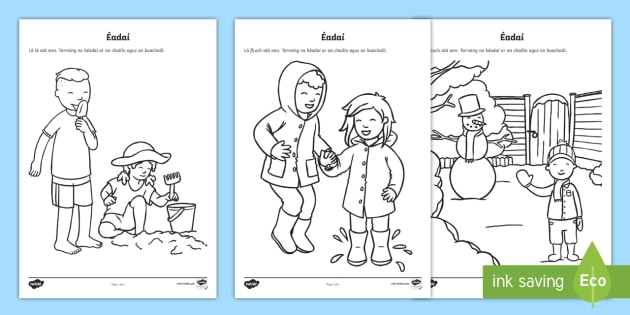 Suitable Clothes For Weather Types Worksheet Activity Sheet