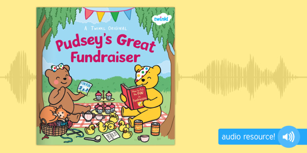 Pudsey's Great Fundraiser Audio Book
