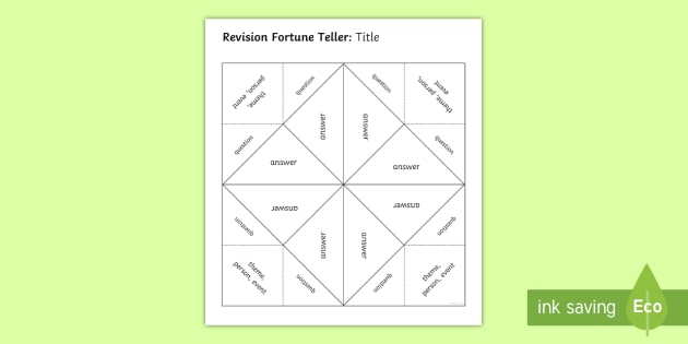 revision template