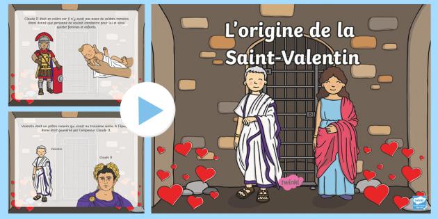new powerpoint l 39 origine de la saint valentin. Black Bedroom Furniture Sets. Home Design Ideas