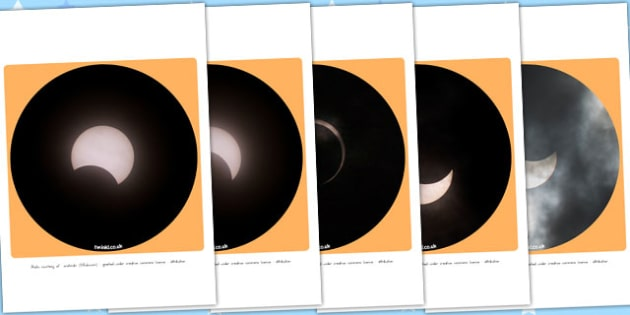 Solar Eclipse Display Photo Cut Outs - australia, displays, space