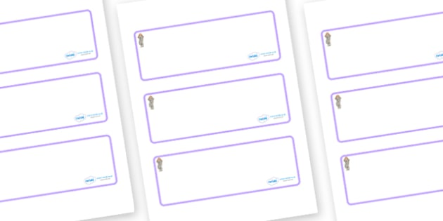 Selkie Themed Editable Drawer-Peg-Name Labels (Blank) - Themed Classroom Label Templates, Resource Labels, Name Labels, Editable Labels, Drawer Labels, Coat Peg Labels, Peg Label, KS1 Labels, Foundation Labels, Foundation Stage Labels, Teaching Label