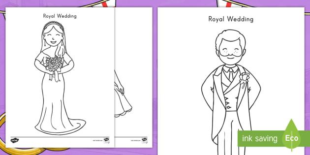 - Royal Wedding Coloring Sheets (teacher Made)