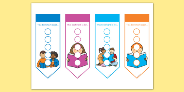 Literacy Themed Sticker Reward Bookmarks 15mm - literacy reward bookmarks, literacy bookmarks, literacy sticker bookmarks, literacy sticker reward bookmark