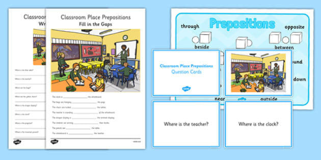 Prepositions Of Place In On At Explanations And Exles Learn English
