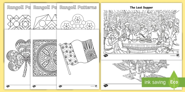 New Ks2 March Coloring Pages
