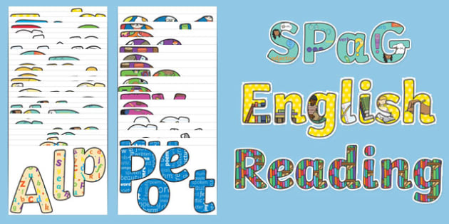 KS1 English Display Lettering Resource Pack - ks1, english, display lettering, display, letter, resource, pack