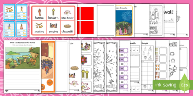 KS1 Diwali  Activity Pack-Australia, Rama and Sita