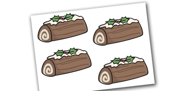 Christmas Yule Logs Editable  - christmas, yule log, display