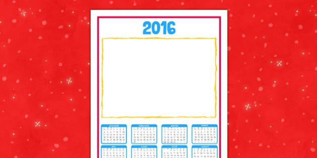 Calendar 2016 - Cadou de Crăciun