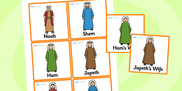 Noah's Ark Role Play Badges - Noah's ark, role play, badges, RE