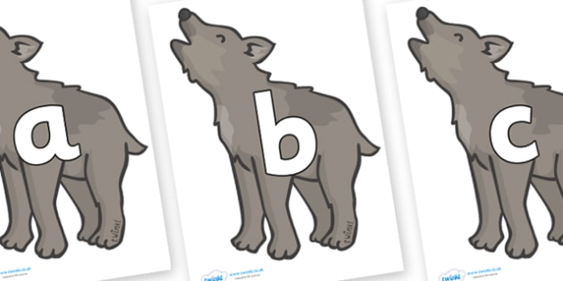 Phoneme Set on Wolf Cubs - Phoneme set, phonemes, phoneme, Letters and Sounds, DfES, display, Phase 1, Phase 2, Phase 3, Phase 5, Foundation, Literacy