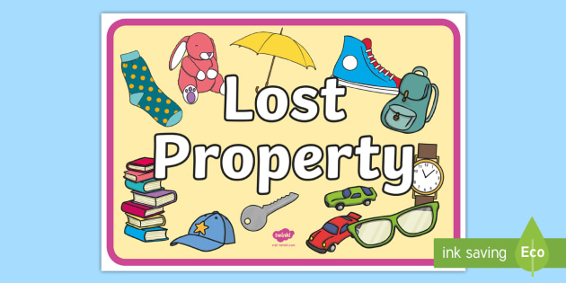 Lost Property Form