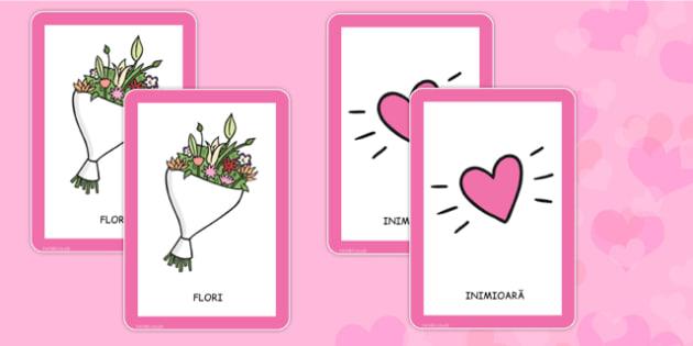Ziua îndrăgostiților - Joc cartonașe pereche - ziua îndrăgostiților, cartonașe, pereche, Valentine's Day, colorat, dăruit, materiale, materiale didactice, română, romana, material, material didactic
