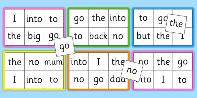 Phase 2 Tricky and Decodable Word Bingo - Word Bingo, Phase 2, Phase two, Foundation bingo, High Frequency Words, Letters and Sounds, DfES Letters and Sounds, Tricky Words
