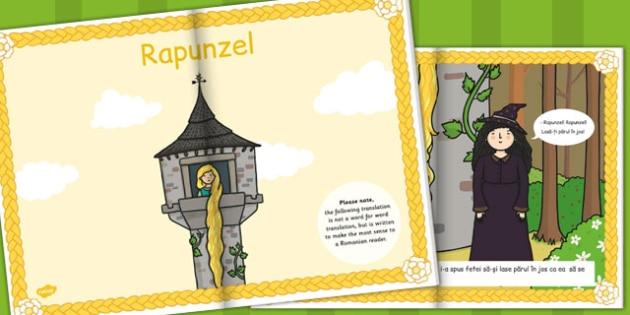 Rapunzel, poveste ilustrata, rezumat cu imagini, lectura, eBook, Romanian