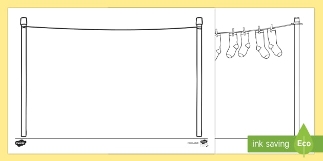 doodle draft washing line activity sheet roi ireland. Black Bedroom Furniture Sets. Home Design Ideas
