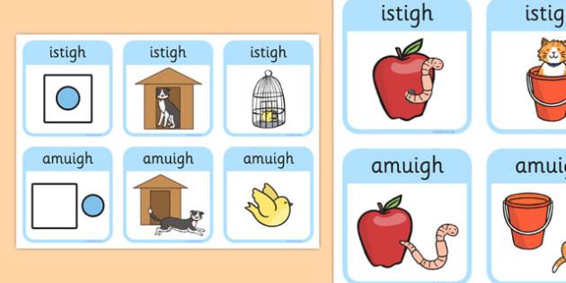 Outside, Inside Locational Prepositions Gaeilge - gaeilge, positional language