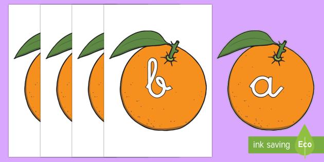 Tarjetas de fonemas: Naranjas - lecto, leer, primeros sonidos