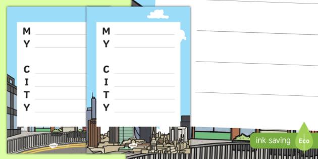 My City Acrostic Poem