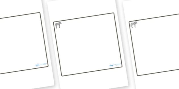 Zebra Themed Editable Classroom Area Display Sign - Themed Classroom Area Signs, KS1, Banner, Foundation Stage Area Signs, Classroom labels, Area labels, Area Signs, Classroom Areas, Poster, Display, Areas