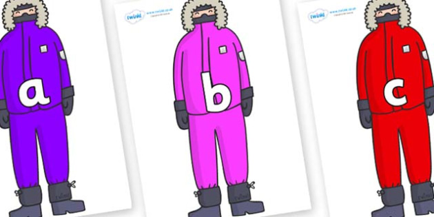 Phase 2 Phonemes on Arctic Explorers - Phonemes, phoneme, Phase 2, Phase two, Foundation, Literacy, Letters and Sounds, DfES, display